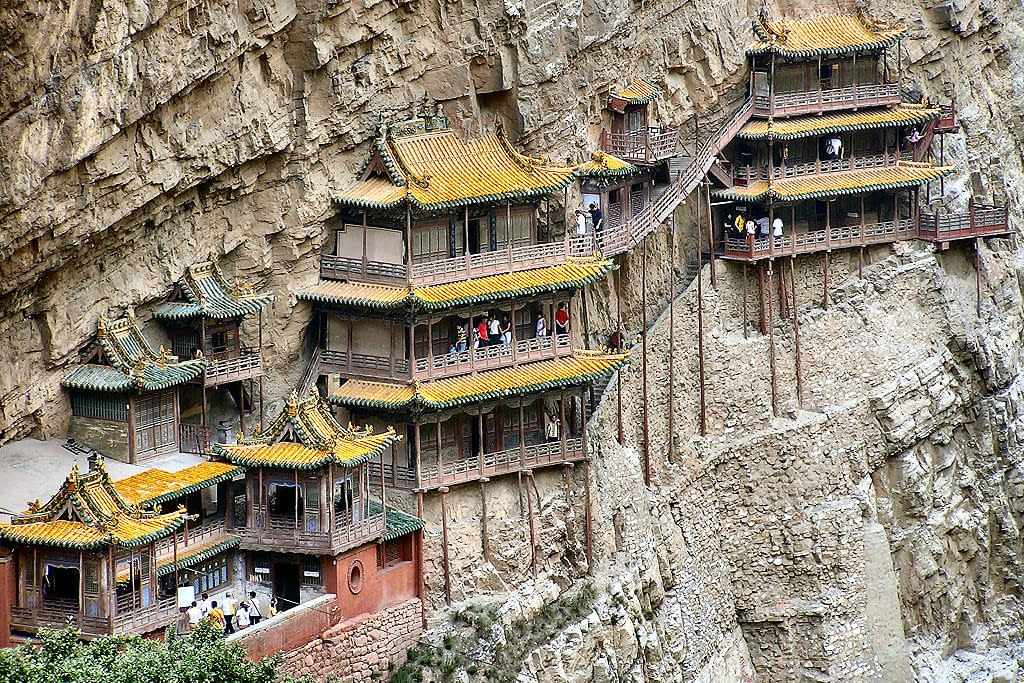 Tempio sospeso Xuankong si