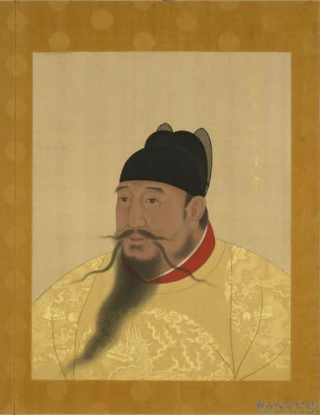 ritratto imperatore Yongle