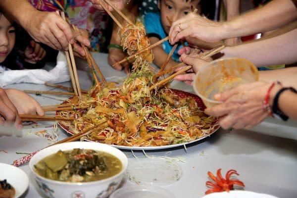 piatto cinese nuovo anno cinese