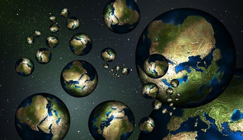 pianeti universi paralleli spazio