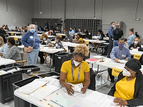 riconteggio voti Georgia scrutinatori