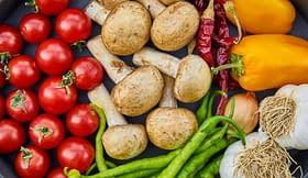 verdure cibo nutrienti