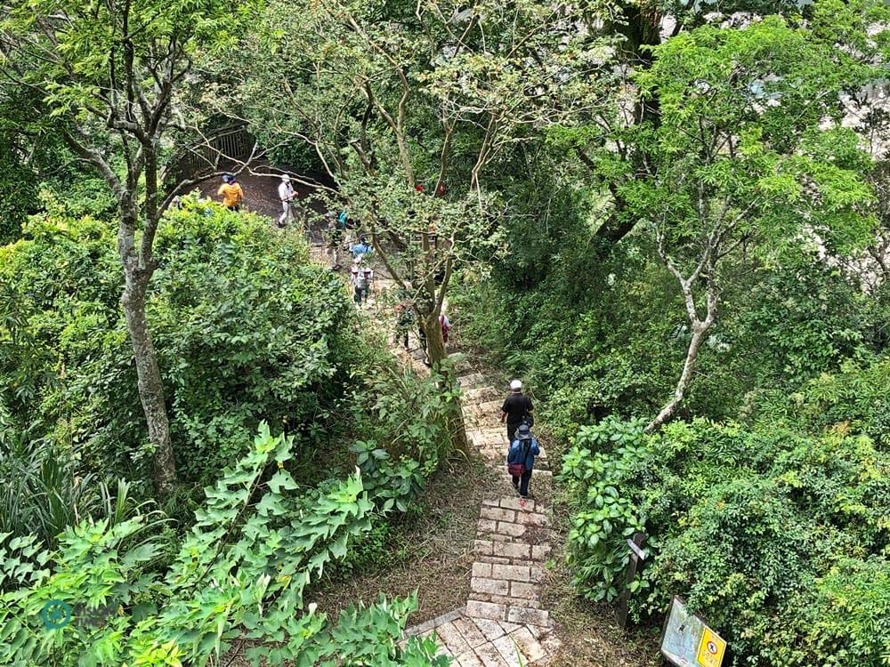 sentiero storico di Caoling