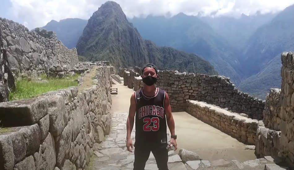 Machu Picchu Perù Katayama