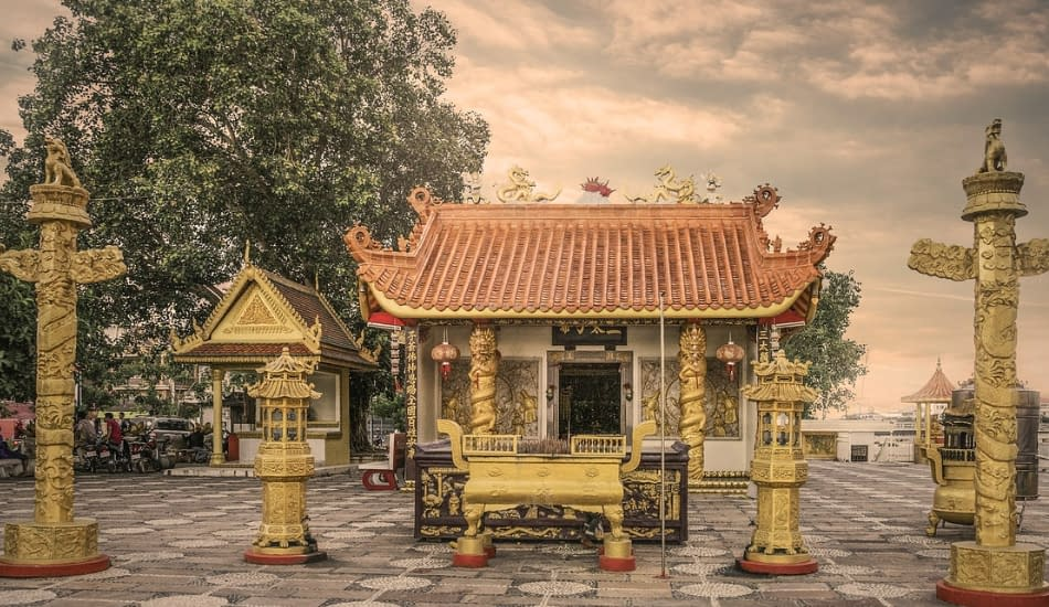 tempio statue