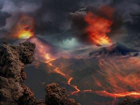 resti di vulcani