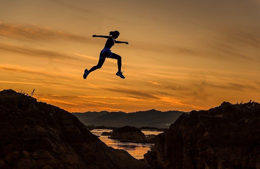 salto energia positiva coraggio
