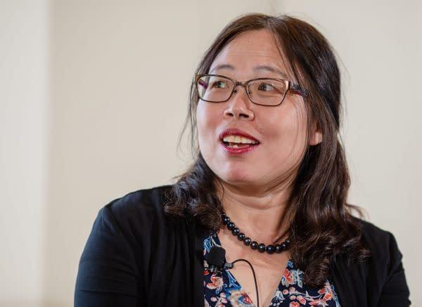 La dottoressa Xiangguo Qiu
