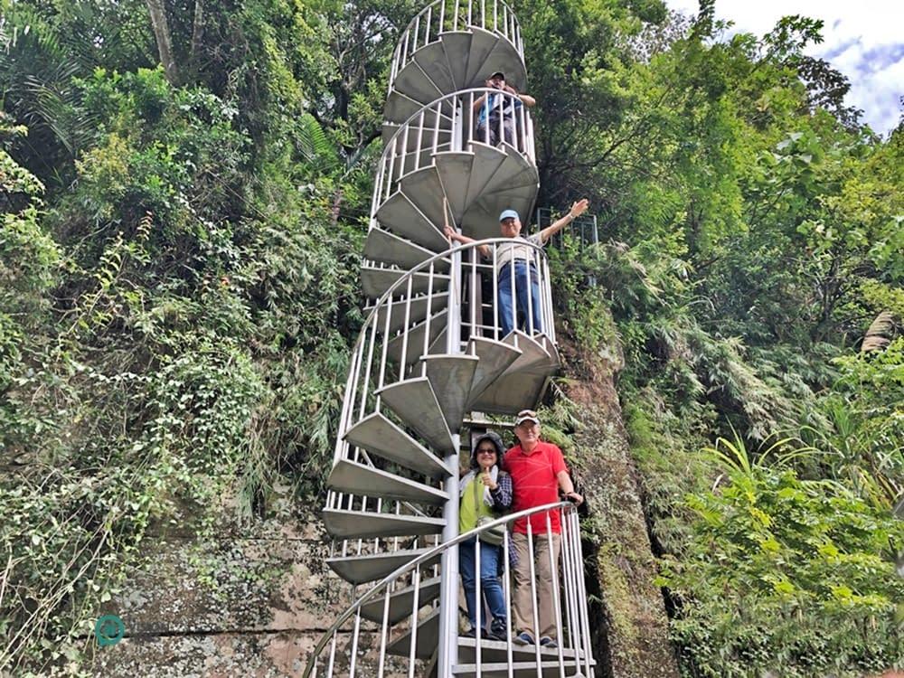 scala a chiocciola Shuiliandong