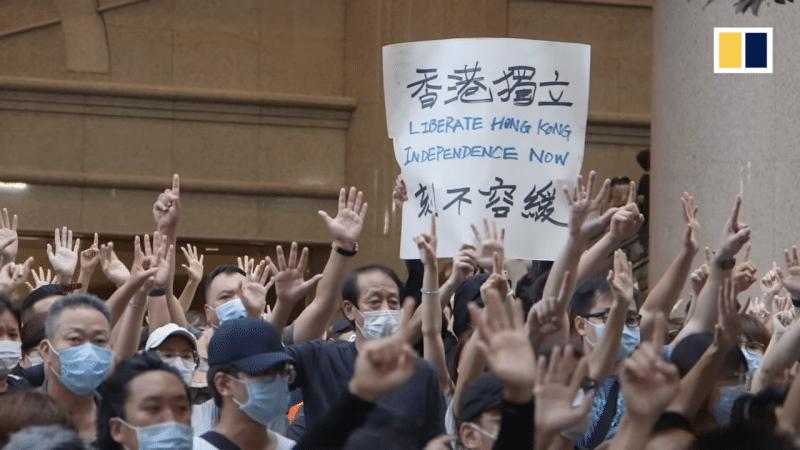 Hong Kong proteste contro legge di Pechino