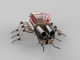 microrobot insetti