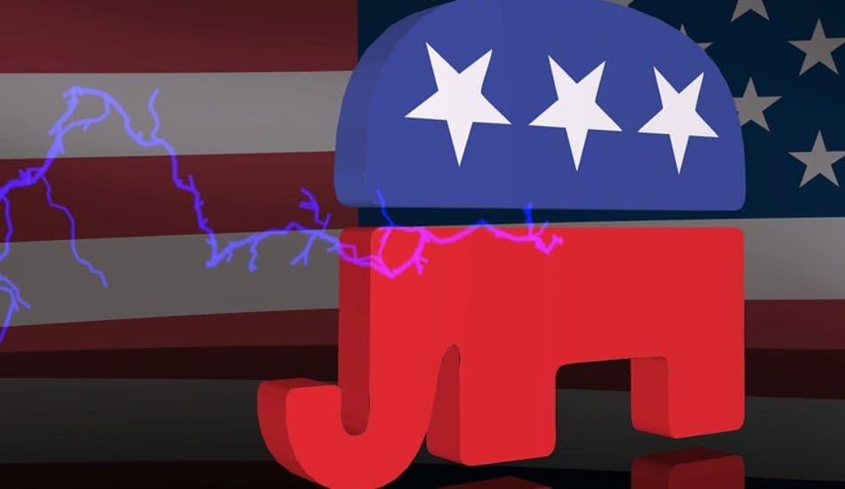Simbolo partito repubblicano statunitense
