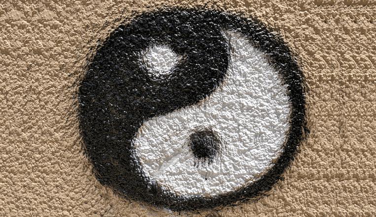 Tao o simbolo dell'energia Yin e Yang