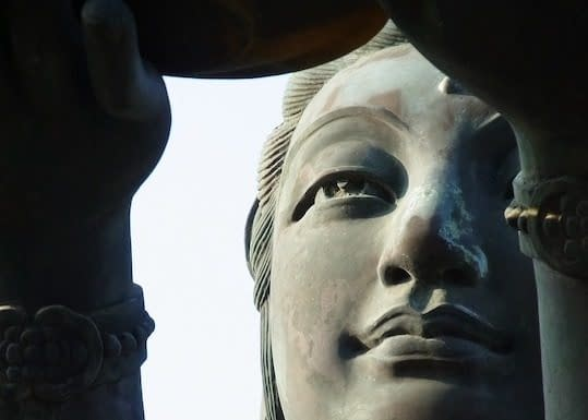 statua Guanyin